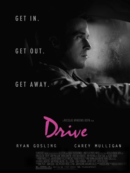 """Drive""  ""ryan gosling"" "" carey mulligan"" ""drive movie poster"""