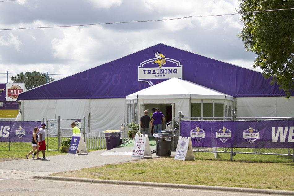 Mn vikings training camp 2015