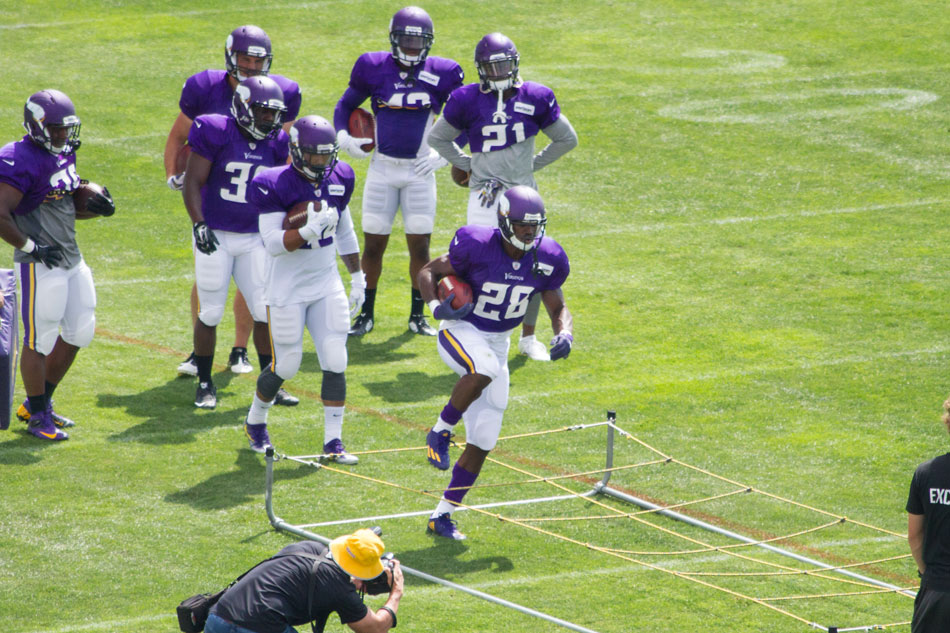 Adrian Peterson Vikings Football 2016