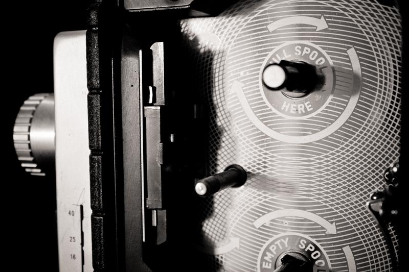 Bell & howell movie camera