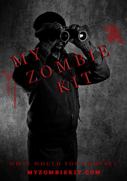 My zombie kit THE WATCHER