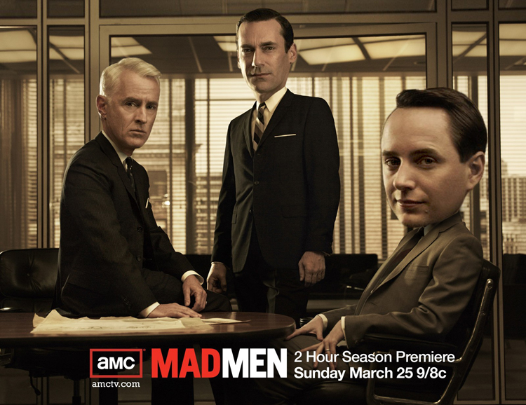 MAD MEN Big Bobble Head