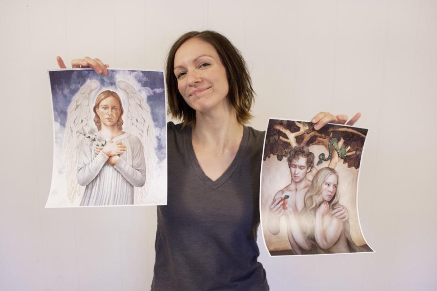 Gabriel plus Adam & Eve