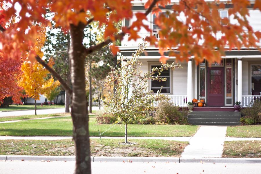 Fall in Brainerd Minnesota