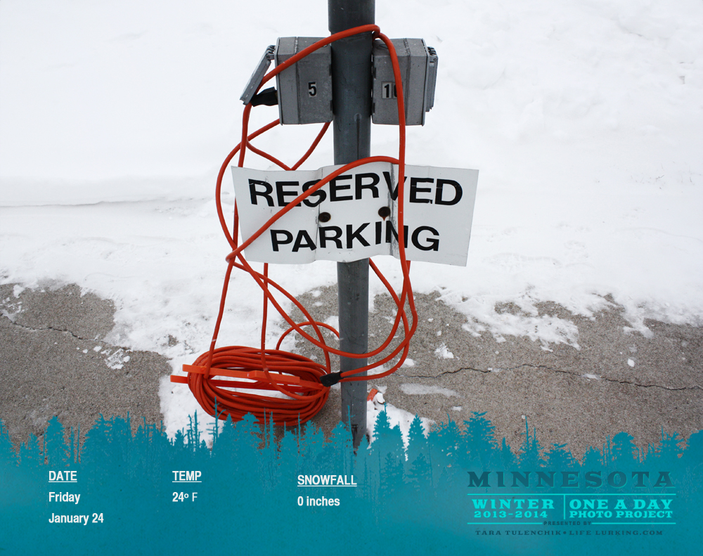Reserved parking
