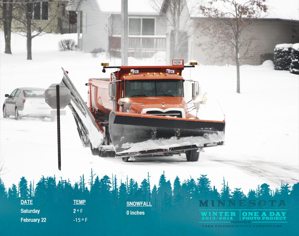 Orange plow