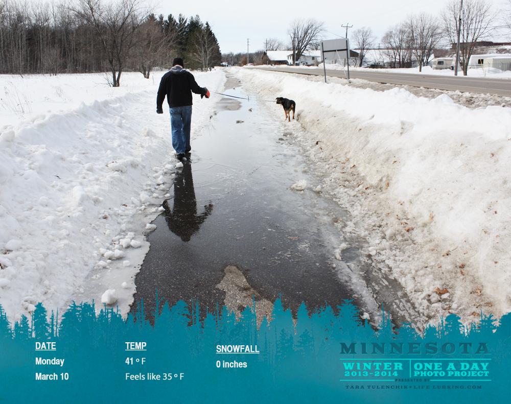 Large puddles