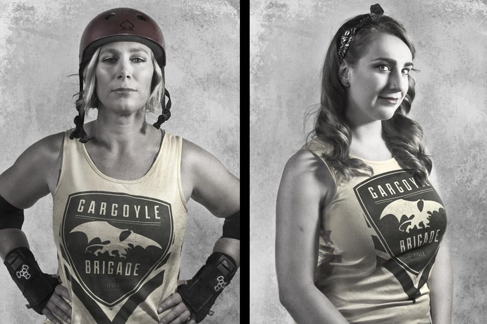 Scar Dolls Roller Derby Portraits
