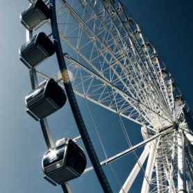 Fine Art by Life Lurking The Great Wheel