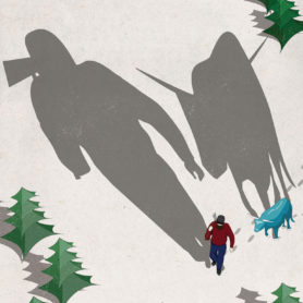 Poster Designs by Life Lurking Paul Bunyan Long Shadows
