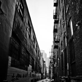 Fine Art by Life Lurking Downtown Alley