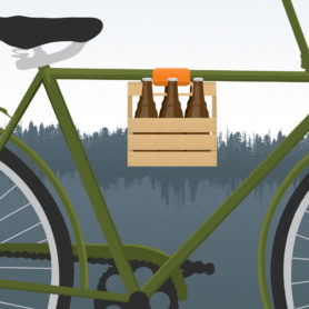 Poster Design by Life Lurking Beer Delivery