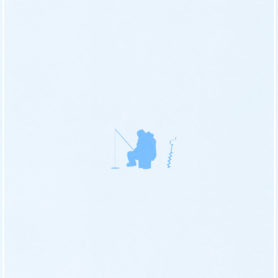 Poster Design by Life Lurking Minnesota Ice Fishing