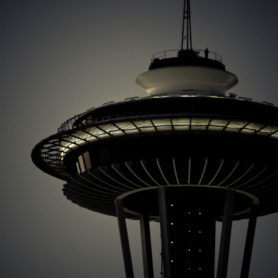 Fine Art by Life Lurking Space Needle