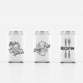 Koozies Designed At Redfin