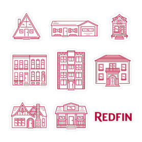 House Icon Stickers Redfin