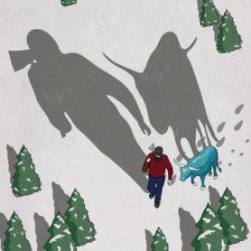 Life Lurking Poster Paul Bunyan Long Shadows