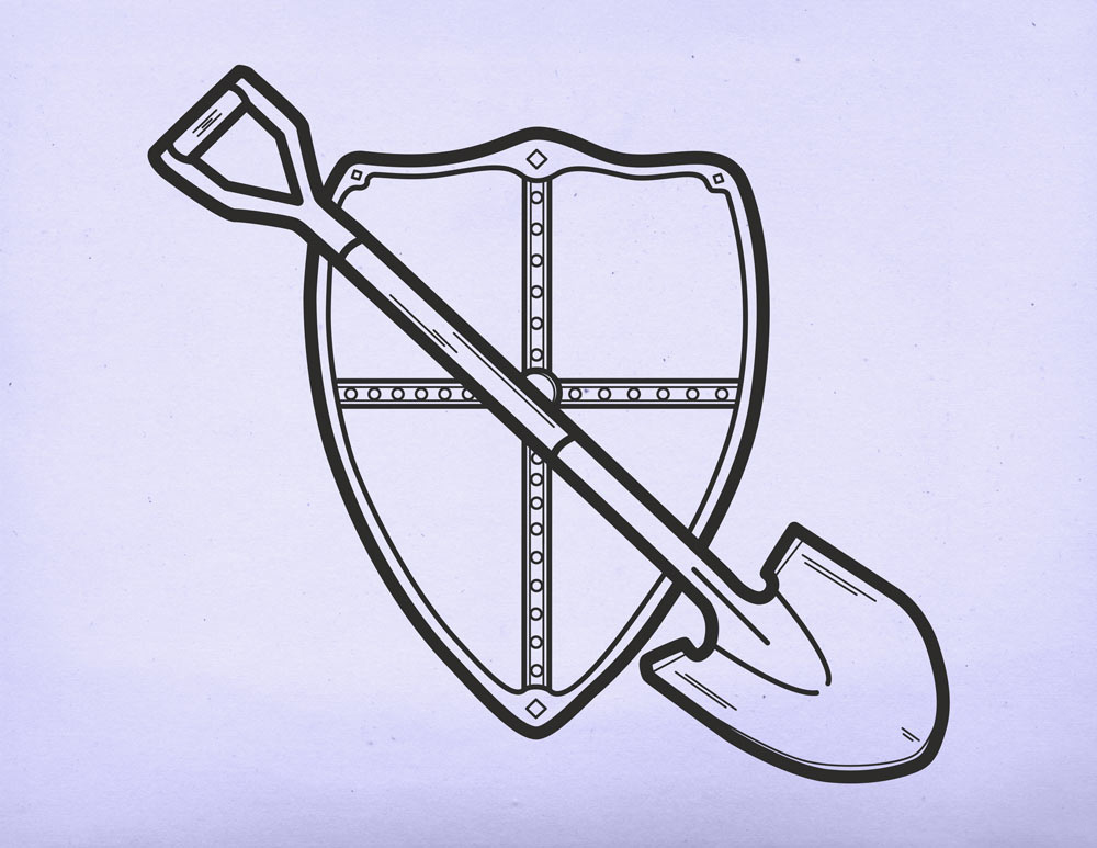 Mythic Quest Shovel Icon by Life Lurking
